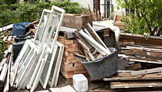 услуга вывоза строительного мусора