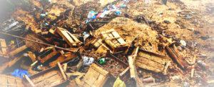Цена сноса деревянного дома и вывоза мусора