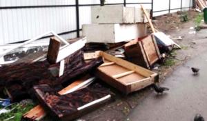Вывоз мусора в ВАО